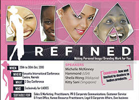Diva Refined – Sheila with other speakers in Kenya, Africa