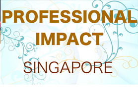 Professional Impact – Sheila impacting audience in Singapore