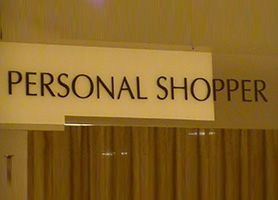 Personalized Branding Series – Personal Shopping